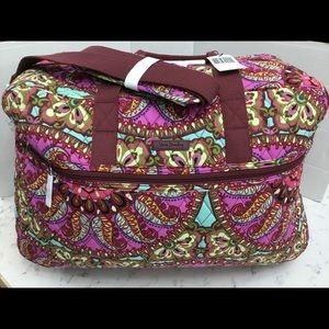 Vera Bradley Grand Traveler Carry On/Overnight Bag